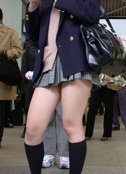 Jk盗撮エロ画像女子高生の太ももは最高の癒やしとエロです