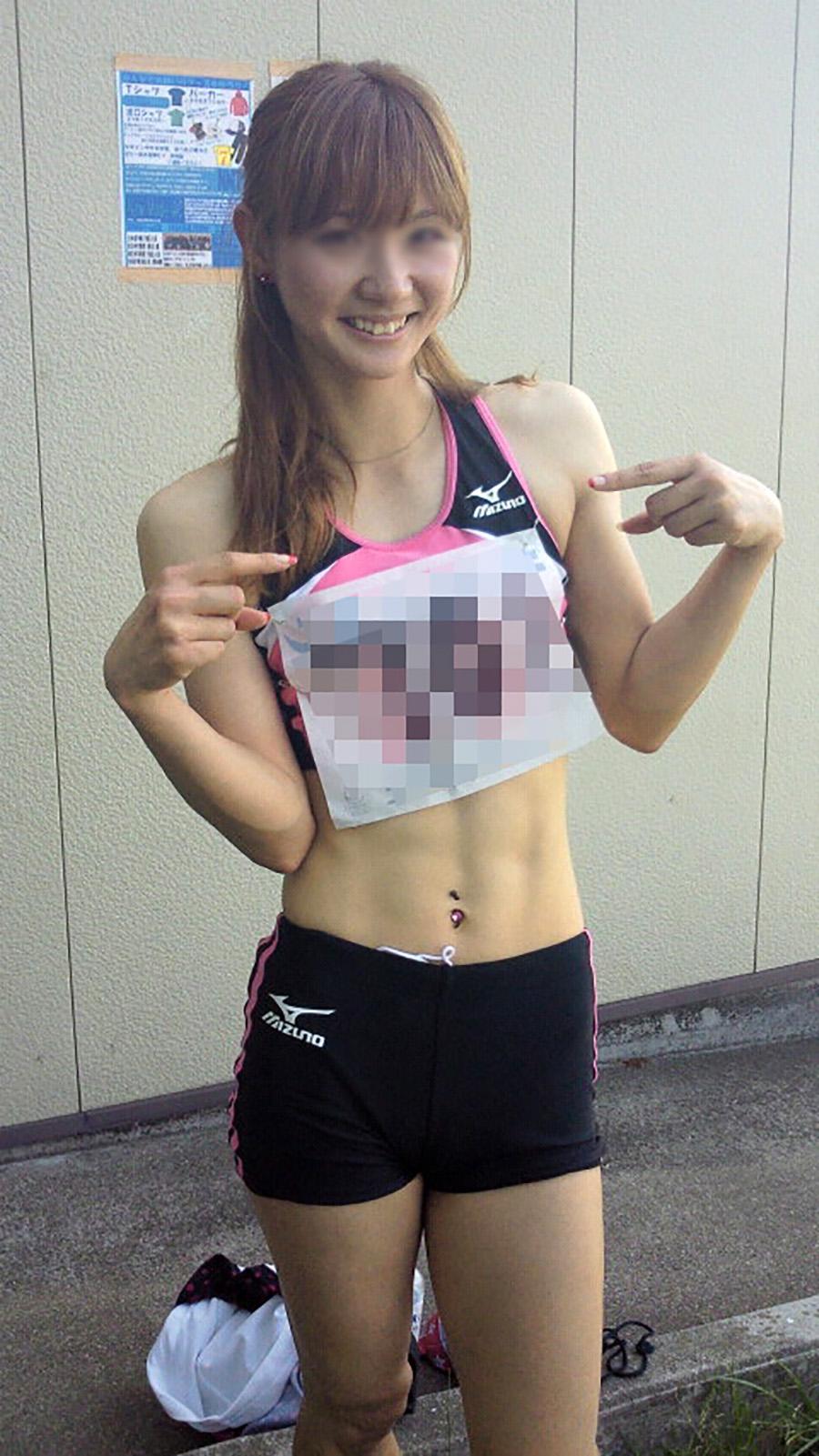 アダルト画像3次元 - 陸上女子選手のお下半身に太もも胸チラ。競技に集中なんてできません!!!!!!【画像あり