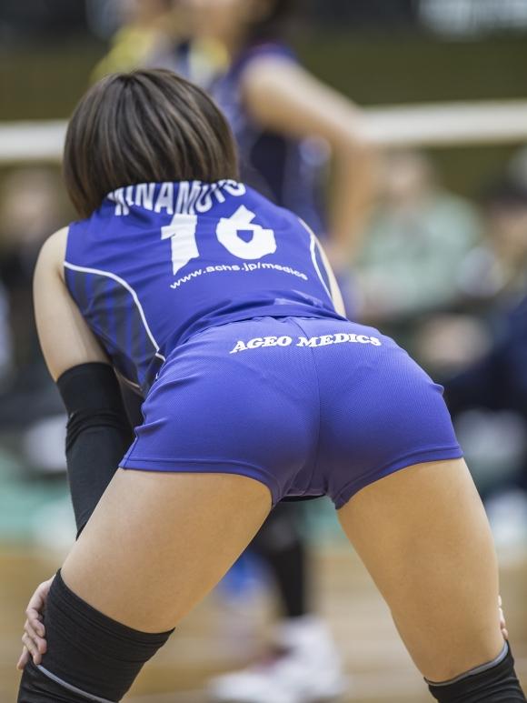 (再確認) 女子バレーボール選手のお尻ってピッチピチでクッソえろいよなwwwwwwwwww(写真30枚)