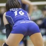 【再確認】 女子バレーボール選手のお尻ってピッチピチでクッソえろいよなwwwww【画像30枚】