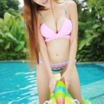 【即ハボ不可避】台湾水着モデルとヤリたすぎる件wwwwww(画像あり)