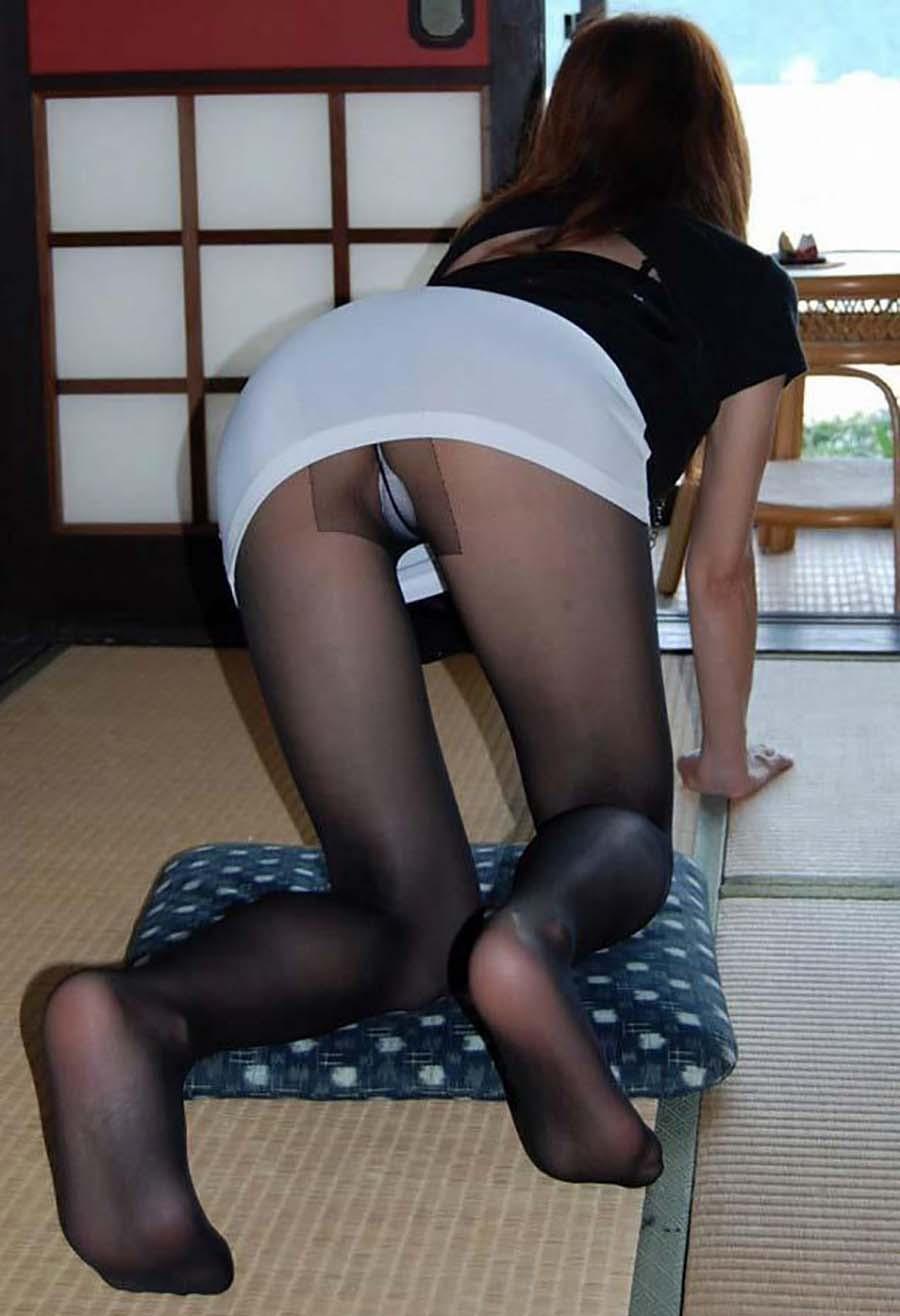 黒ストッキング好きにはたまらない色んなアングルの黒ストッキング女子wwwwwwwwww(写真あり)