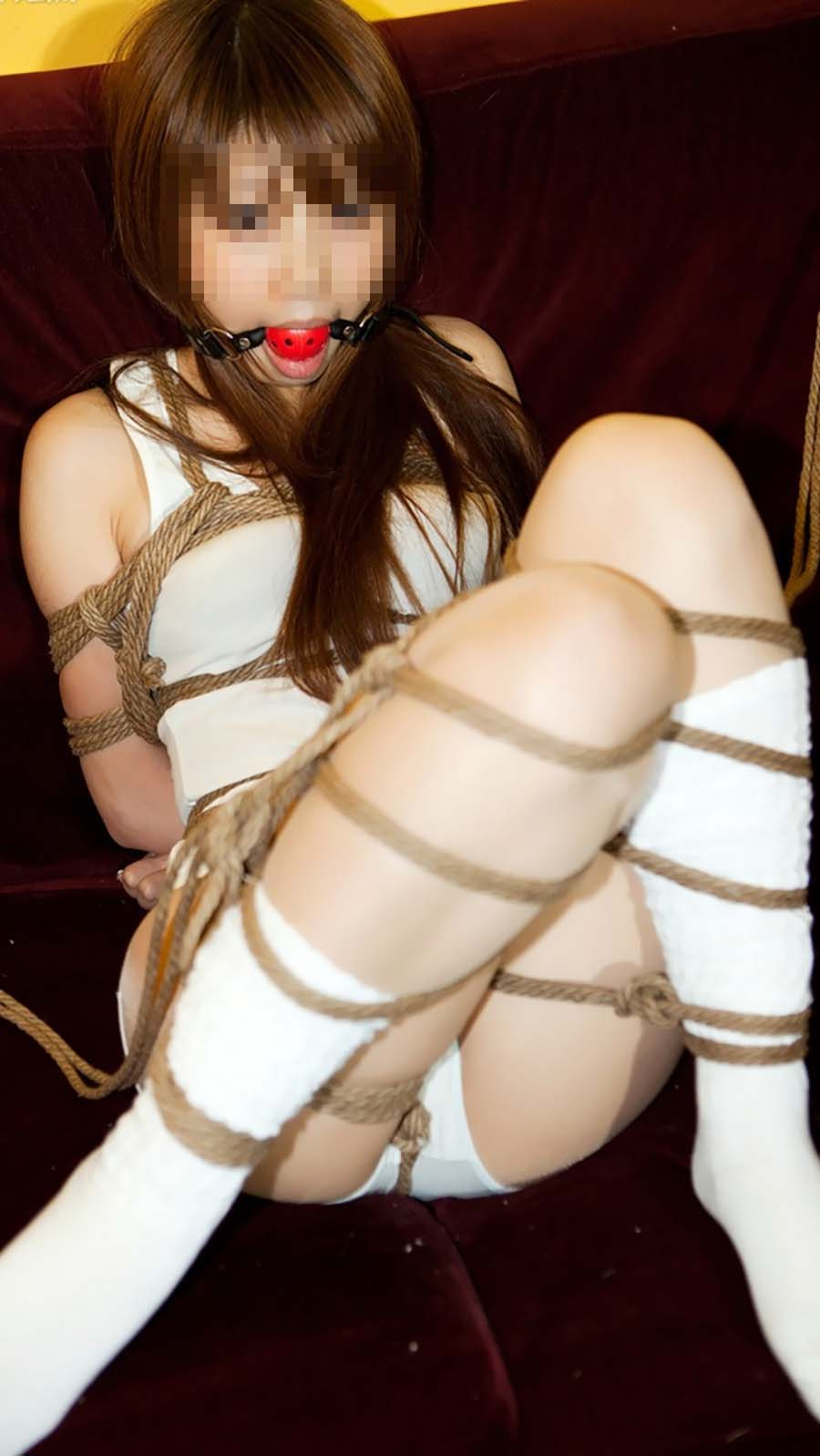 (SM)縄で緊縛縛りされたドM肉便器が愛おしいわwwwwwwwwwwww(写真あり)