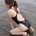 クッソエロい競泳水着をきたお姉さんを集めたらオナニー捗りすぎてヤバイwwwww(画像あり)