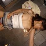 【レイプ注意】ゴミ同然の扱いをされる泥酔女wwwwww(画像あり)