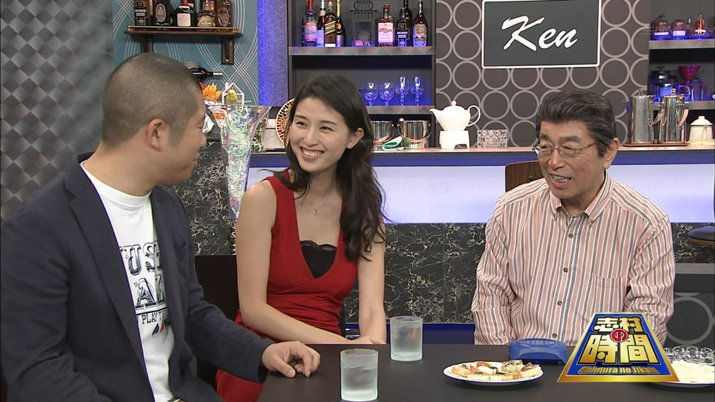 【エロ画像】TV,に橋本マナミ姉さんが登場するだけで着衣美巨乳とえろスで視聴率大幅アップらしいwwwwwwwww(TVえろキャプ画像あり)
