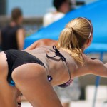 女子ビーチバレーというエロ目的で作られた競技がコチラwwwww(画像あり)