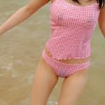 水に衣服が濡れてスケスケ状態の女ってどうしてこんなにエロいんだろうかwwwwww(画像あり)