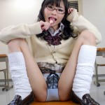 メガネっ娘最高!優等生JKを犯したくなるエロ画像wwwww