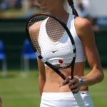 乳首ポッチにマンスジ…女子テニス選手がハプニング多くてぐうシコwwwww