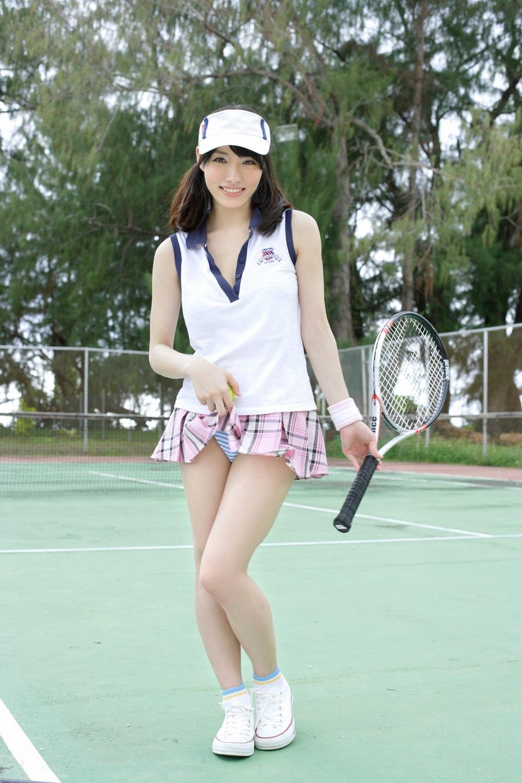 人妻 熟女 テニス