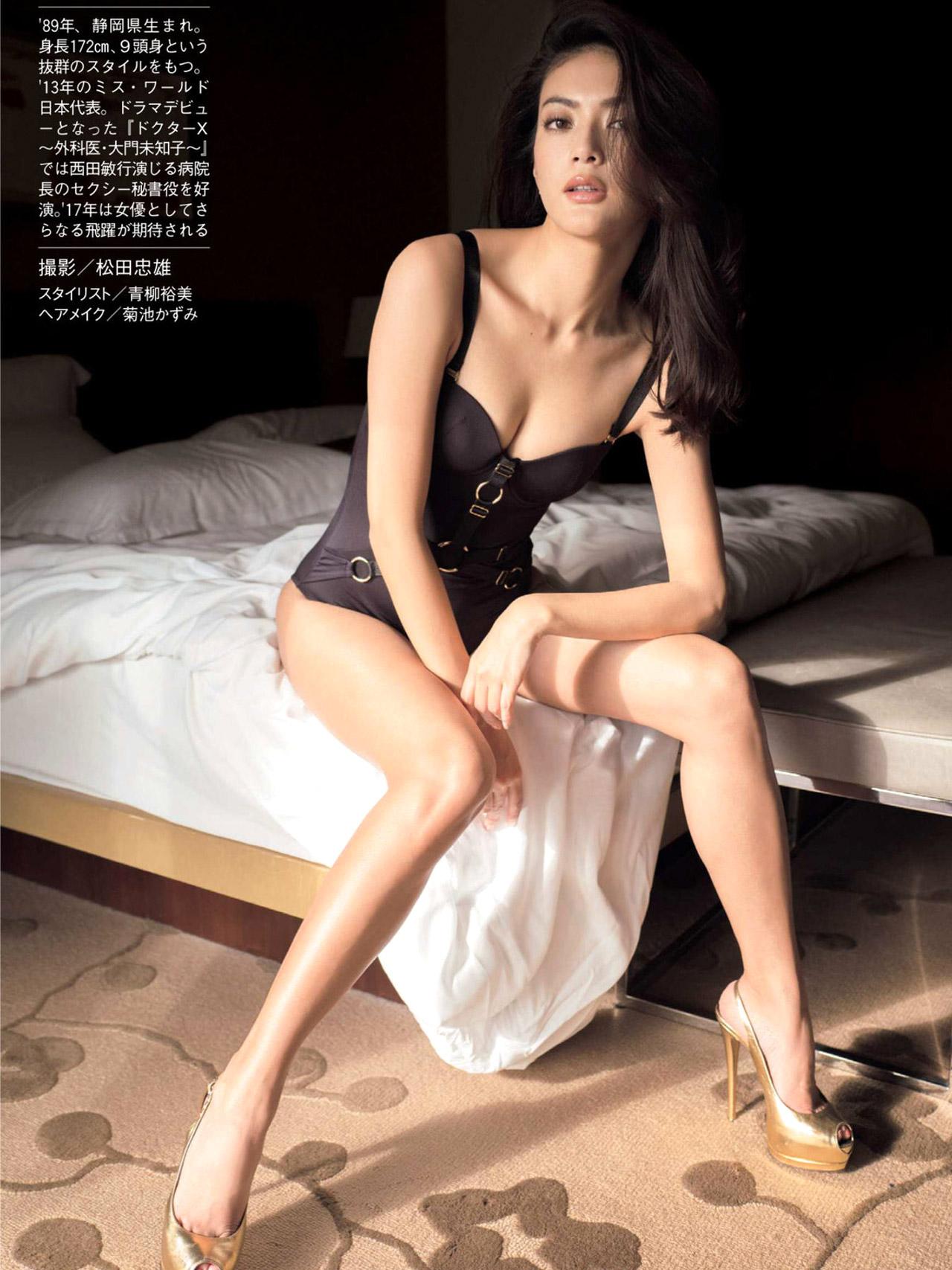 田中道子 エロ画像26枚!世界も認めるモデル美女のスタイルが良すぎてぐうシコwww