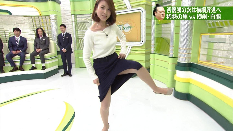 秋元玲奈アナ パンツ丸見ええろ写真30枚☆タイトスカートで四股踏みとかえろすぎるだろwwwwww