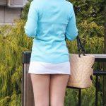 見えそうで見えない!ミニスカ美脚の素人さんのエロ画像30枚