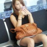 電車で見た素人さんのパンチラ・下半身盗撮エロ画像30枚